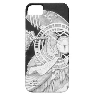 'Celebrabis' phone cover with alien artwork iPhone 5 Cover