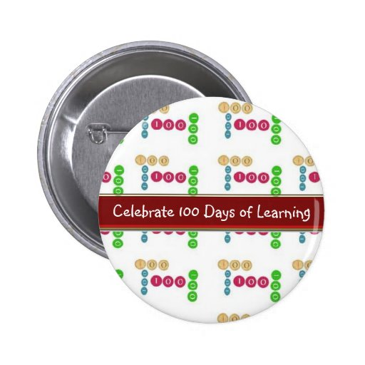 Celebrate 100 Days of Learning STUDENT Button