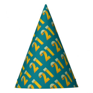 Celebrate 21st Birthday Party Hat