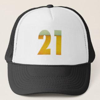 Celebrate 21st Birthday Trucker Hat