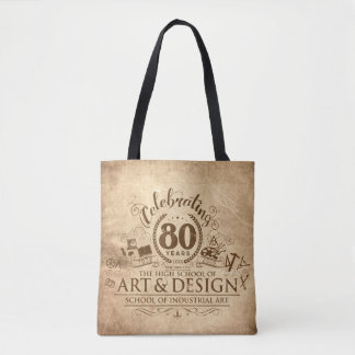 Celebrate 80 Years of SIA/A&D Tote Bag