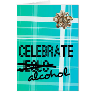 Celebrate Alcohol Card