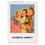 Celebrate America, 4th of July Greeting Cards