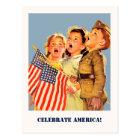 Celebrate America, 4th of July Postcards