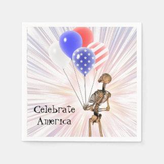 Celebrate America Disposable Napkin