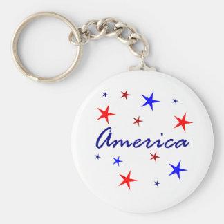 Celebrate America Key Ring