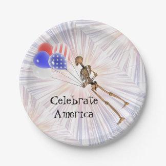 Celebrate America Paper Plate