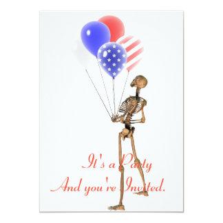 Celebrate America Party Invitation