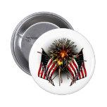Celebrate America Pinback Button