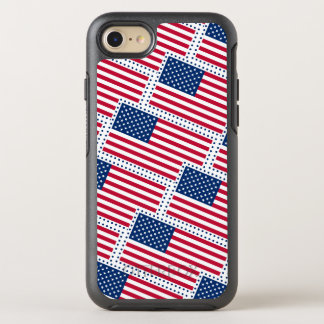 Celebrate American US Flag OtterBox Symmetry iPhone 8/7 Case