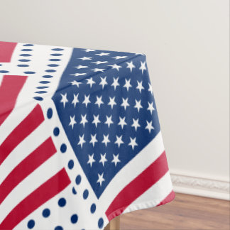 Celebrate American US Flag Tablecloth