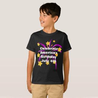 Celebrate America's Birthday July 4th T-Shirt