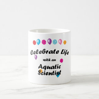 Celebrate Aquatics Scientist Coffee Mug