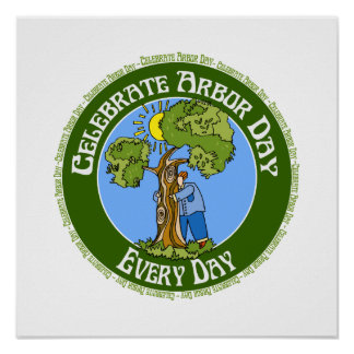 Celebrate Arbor Day Every Day Posters