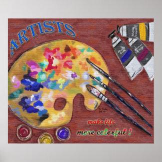 Celebrate Artists print