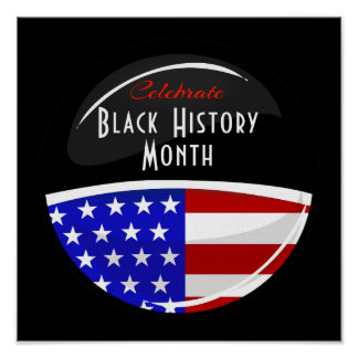 Celebrate Black History Month Event Poster
