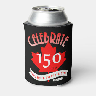 Celebrate Canada 150 Years Can Cooler