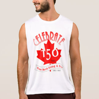 Celebrate Canada 150 Years Singlet
