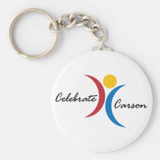 Celebrate Carson Key Chain