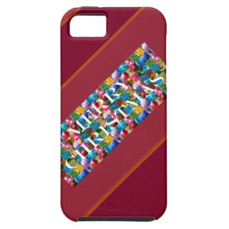 Celebrate CHRISTMAS :  Crazy Colorful n SHARE Joy iPhone 5 Cover