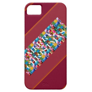 Celebrate CHRISTMAS :  Crazy Colorful n SHARE Joy iPhone 5 Covers