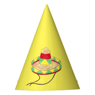 Celebrate Cinco de Mayo Mexican Fiesta Sombrero Party Hat
