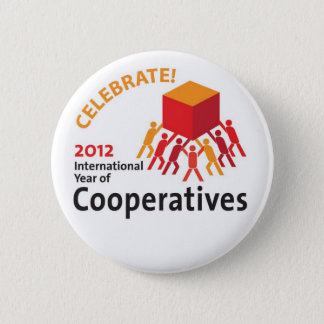 Celebrate Cooperatives 6 Cm Round Badge