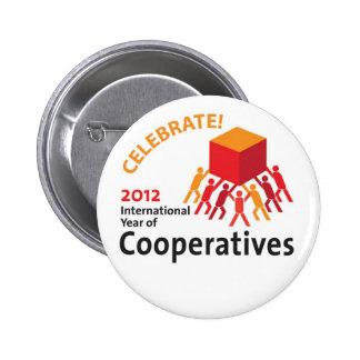 Celebrate Cooperatives 6 Cm Round Badge