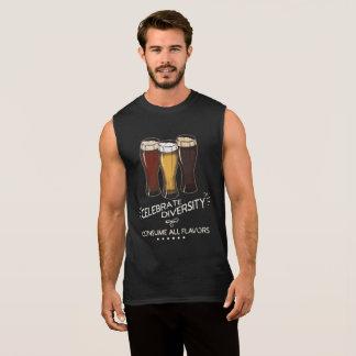 Celebrate Diversity Beer Lover Sleeveless Shirt