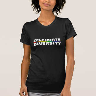 Celebrate Diversity Dark Ladies Twofer Sheer T-Shirt