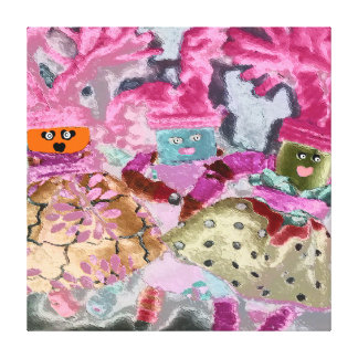 Celebrate Diversity - Inclusion Not Exclusion Stretched Canvas Prints