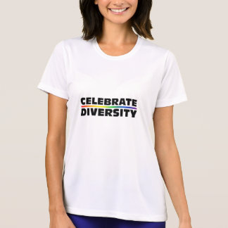 Celebrate Diversity Ladies Performance Micro-Fiber T-shirt