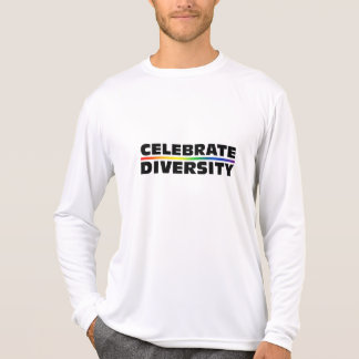 Celebrate Diversity Performance Micro-Fiber Long S Tshirt