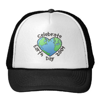 Celebrate Earth Day 2009 Trucker Hats