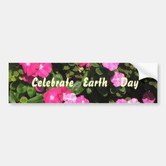 Celebrate Earth Day Bumper Sticker