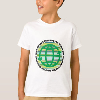 Celebrate Earth Day Every Day Kids Shirts