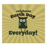 Celebrate earth day every day print