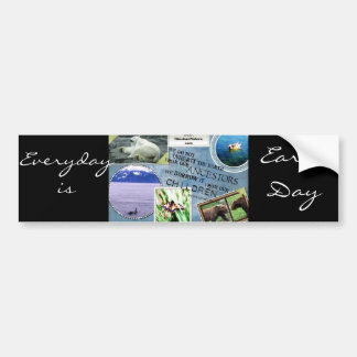 Celebrate Earth Day~ Everyday is Earth Day Bumper Sticker