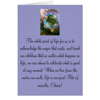 Celebrate Family Life Greeting Card