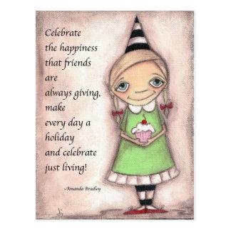 Celebrate Friends - Postcard
