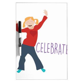 Celebrate Girl Dry Erase Board