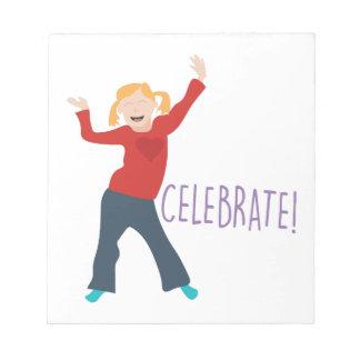 Celebrate Girl Notepads