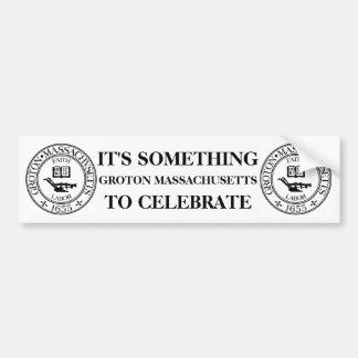 Celebrate Groton, Mass Bumper Sticker