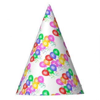 Celebrate Happy Birthday Party Hat