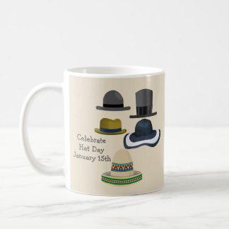 Celebrate Hat Day | January 15th Coffee Mug