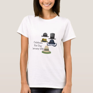 Celebrate Hat Day | January 15th T-Shirt