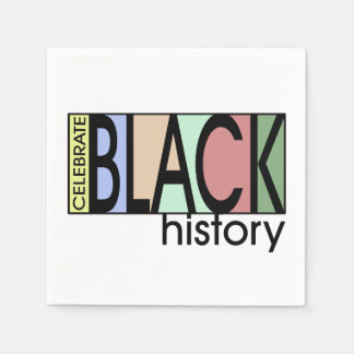 Celebrate History BHM Party Paper Napkins