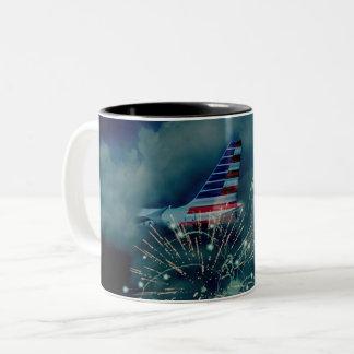 Celebrate in Peace Fireworks Mug
