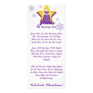 Celebrate Jesus The Morning Star-Customize Customised Rack Card