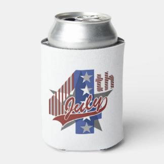 Celebrate July 4th Beverage Can Cooler